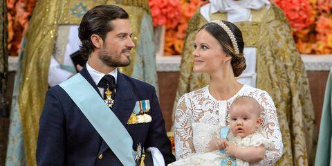 Princess Sofia and Prince Carl Philip of Sweden