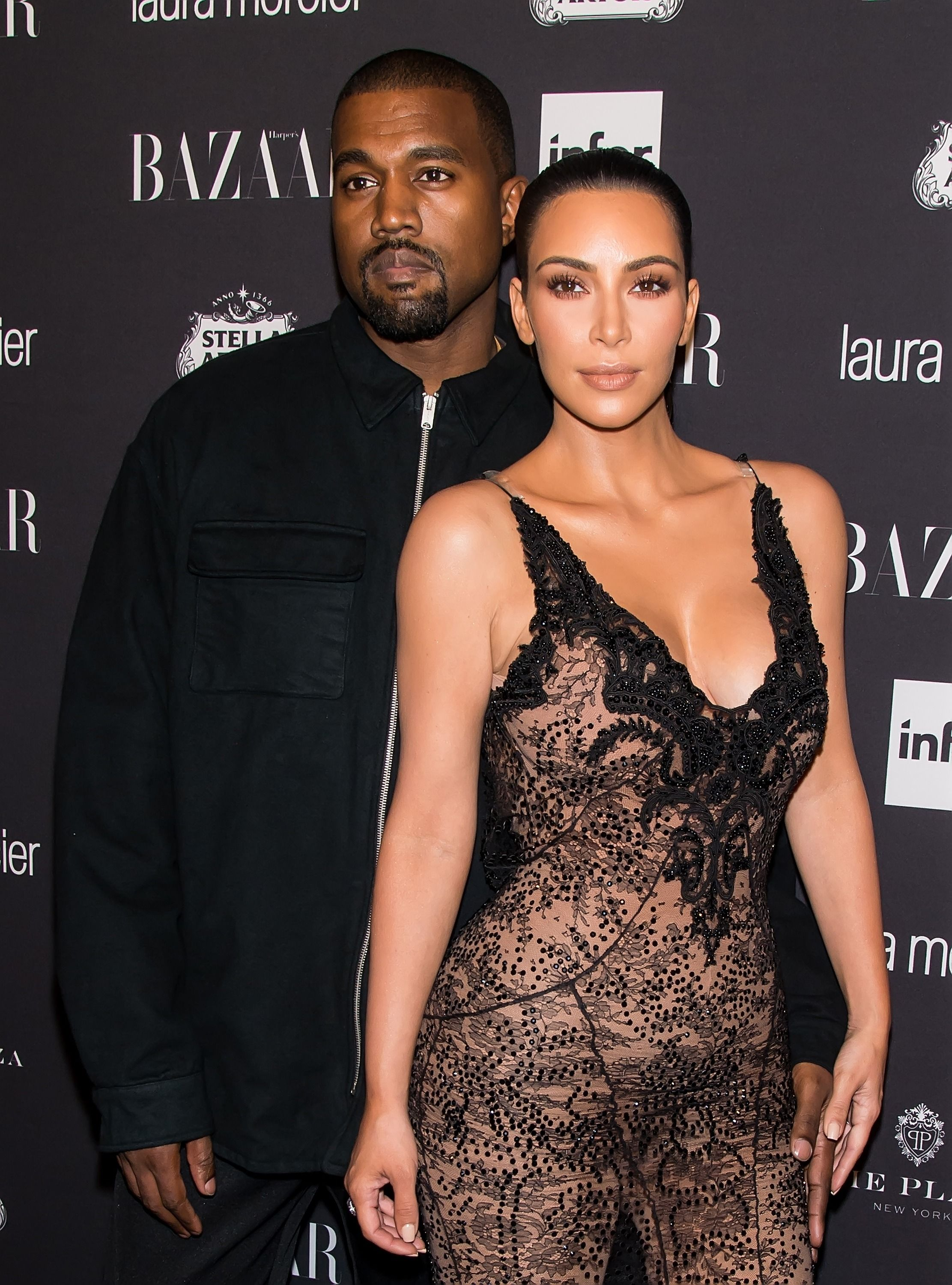 Kim Kardashian Skips Her First Public Event Since the Robbery to Be with Kanye at the Hospital