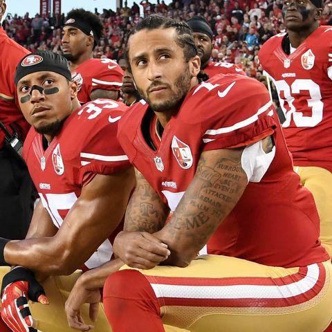 new products 1c8c8 75118 Celebs Boycott Super Bowl Support Colin Kaepernick ...