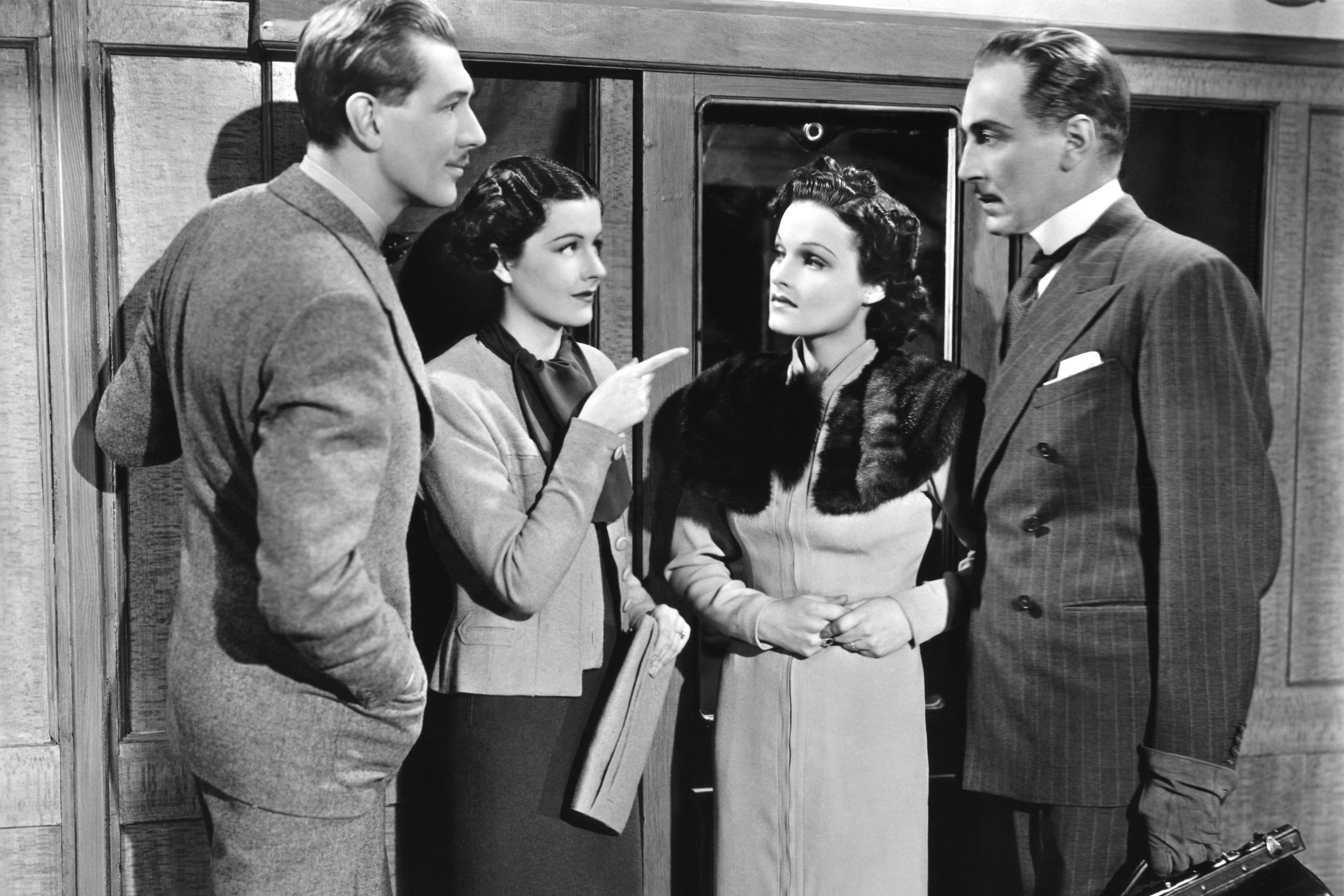 Watch Now Produced in his native England before he came to the U.S., The Lady Vanishes demonstrates Alfred Hitchcock's grasp of taut mystery storytelling, and his good humor too. Margaret Lockwood stars as the spunky Iris, an Englishwoman who explores the disappearance of a fellow passenger aboard a sleeper train in wintry Eastern Europe.