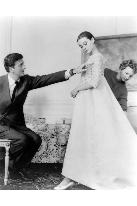 Photograph, Gown, Dress, Wedding dress, Clothing, Bride, Black-and-white, Snapshot, Shoulder, Bridal clothing,