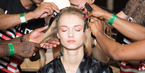 Hair, Hairstyle, Beauty, Hairdresser, Fashion, Buzz cut, Nail, Makeup artist, Barber, Long hair,