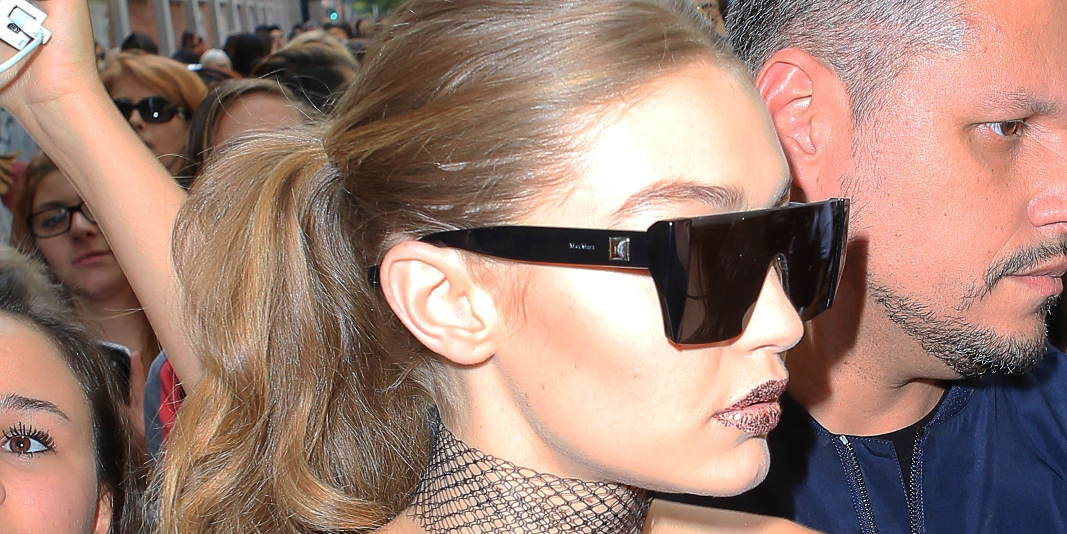 Gigi Hadid Fiercely Defends Herself After Being Manhandled at Milan Fashion Week