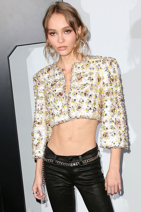 Chanel Dinner Celebrating N°5 L'Eau With Lily-Rose Depp, Los Angeles, CA - Arrival