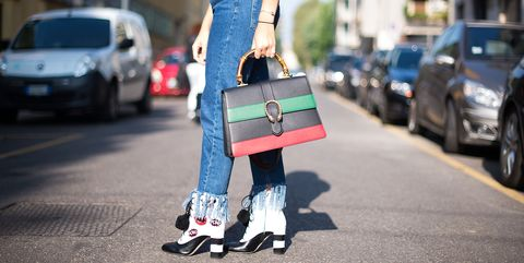 Street fashion, Product, Fashion, Footwear, Asphalt, Jeans, Recreation, Street, Rolling, Road,