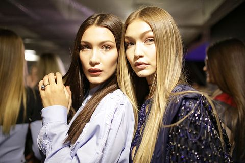 Gigi dan Bella Hadid