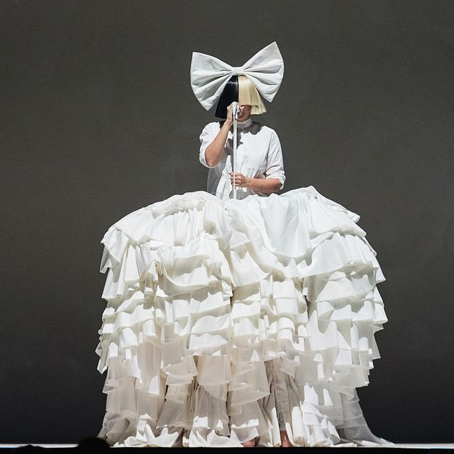seattle, wa   september 29  sia performs on stage during the opening night of her nostalgic for the present tour at keyarena on september 29, 2016 in seattle, washington  photo by mat haywardgetty images
