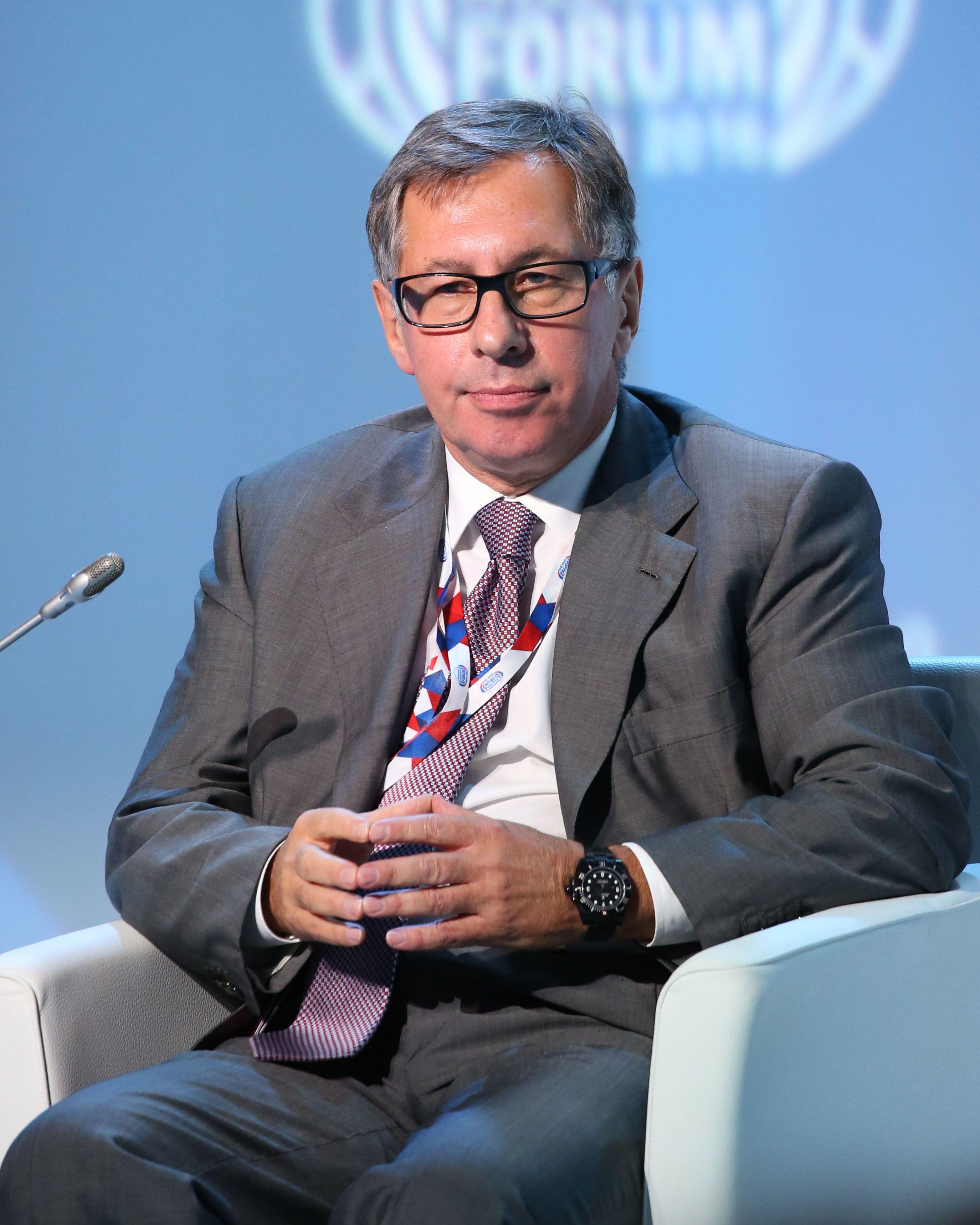 Alfa Bank Chairman of the Board Petr Aven.