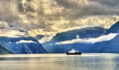 Norway Ferry Fjords