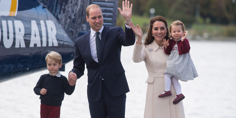 prince william george kate middleton charlotte