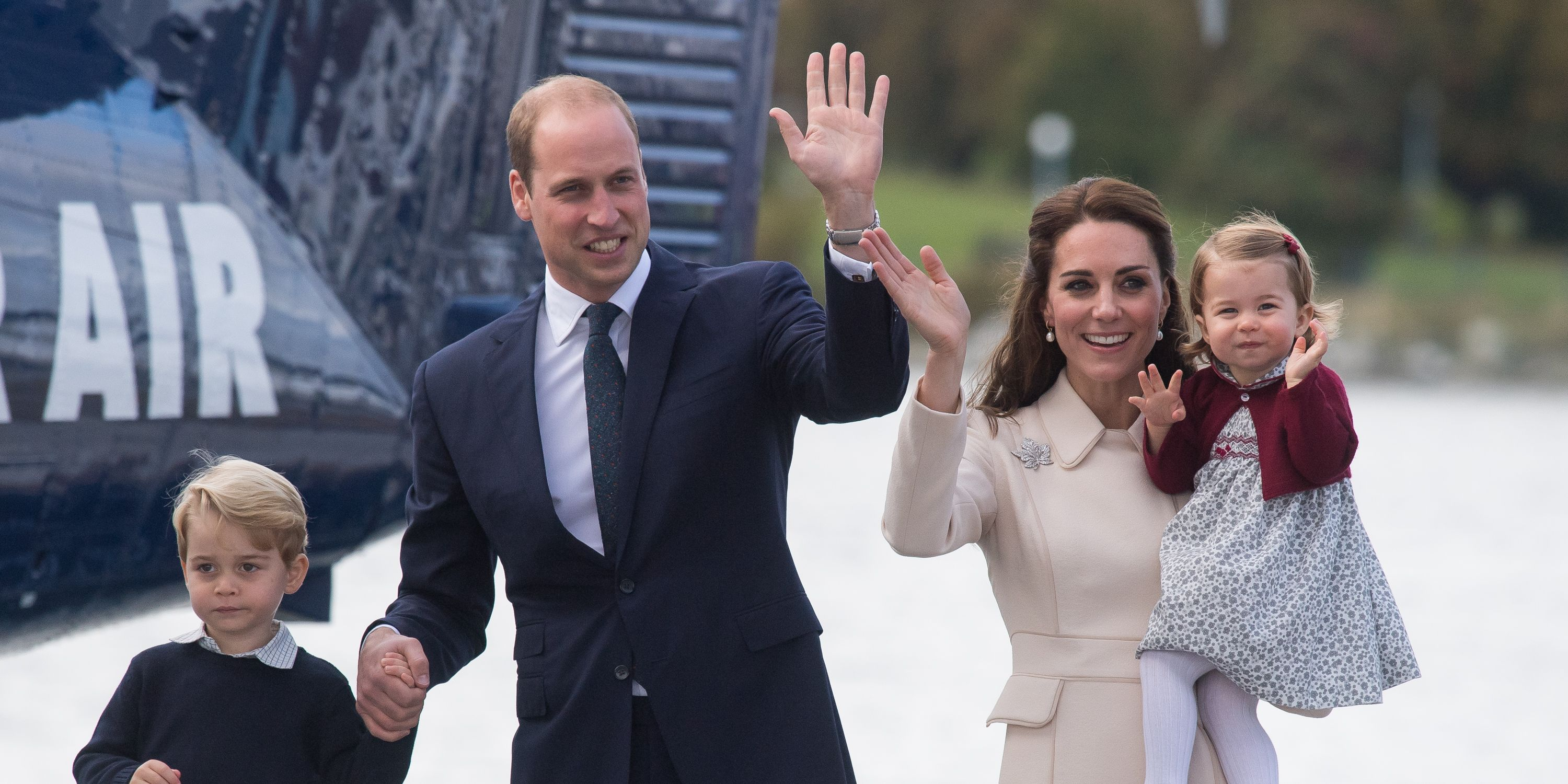 Prince George, Prince William, Duchess Kate, Princess Charlotte