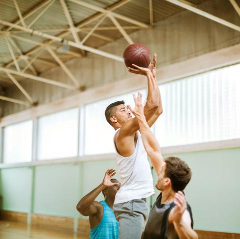 Basketball court, Basketball, Basketball player, Basketball hoop, Basketball moves, Basketball, Sport venue, Sports, Team sport, Ball,