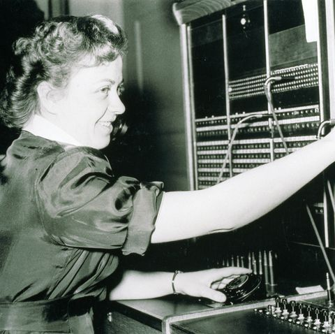 work through the years - telephone exchange