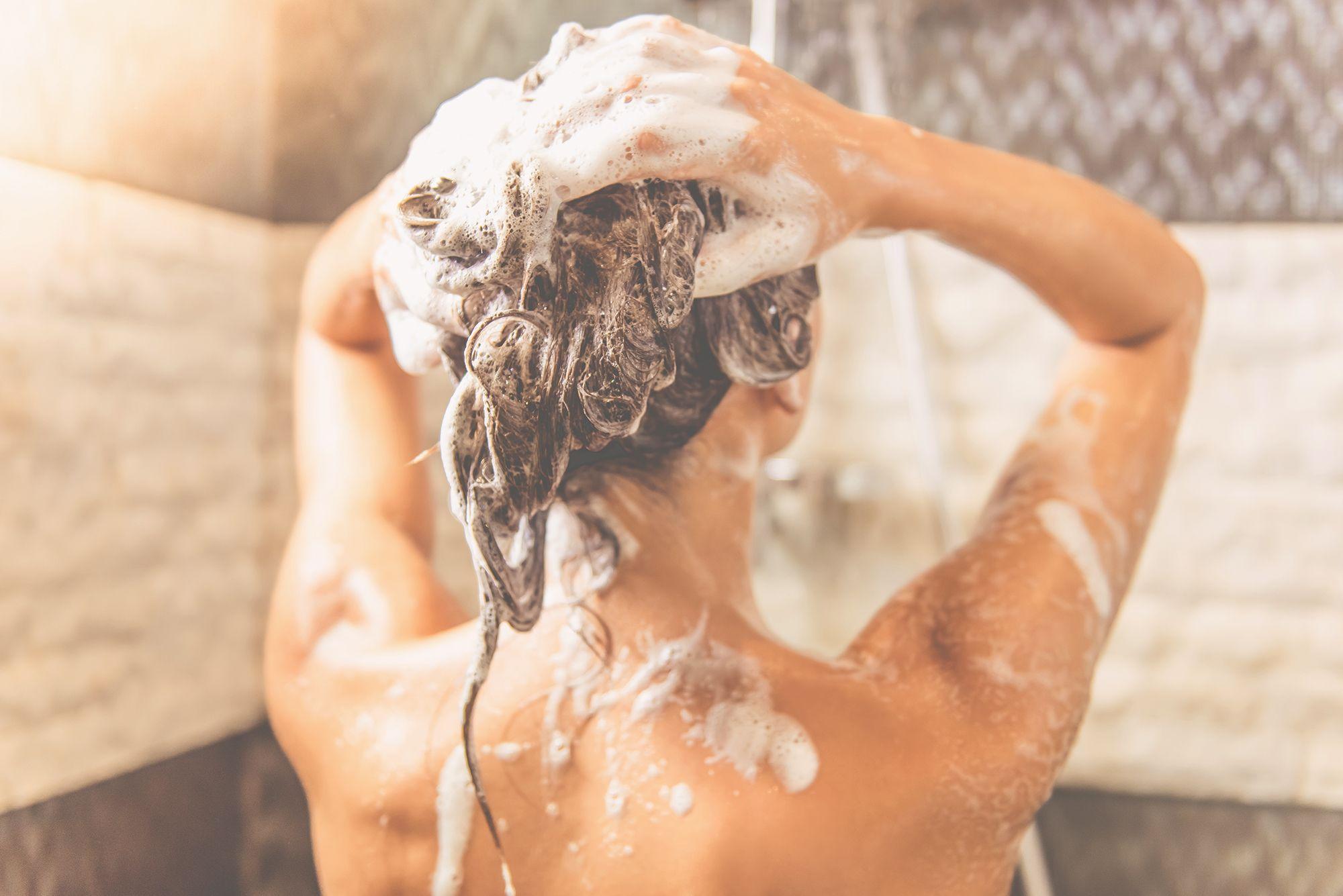 caldo sotto la doccia