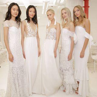 16 Best Fall Wedding Dresses Designer Fall 2017 Bridal