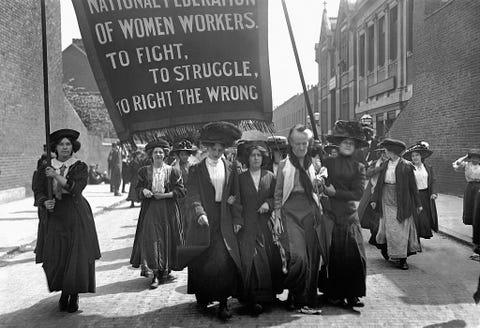Suffragette March, London 1911