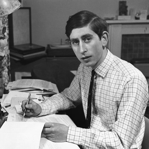 Prince Charles as a Student