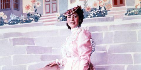 White, Pink, Fashion, Headpiece, Dress, Headgear, Outerwear, Photography, Fashion design, Vintage clothing,