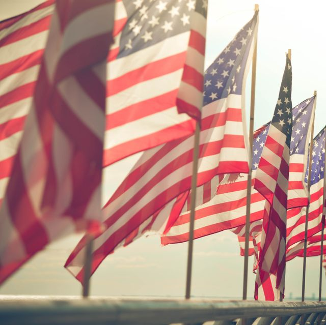 Flag, Flag of the united states, Red, Flag Day (USA), Sky, Veterans day, Memorial day, Independence day, Holiday,