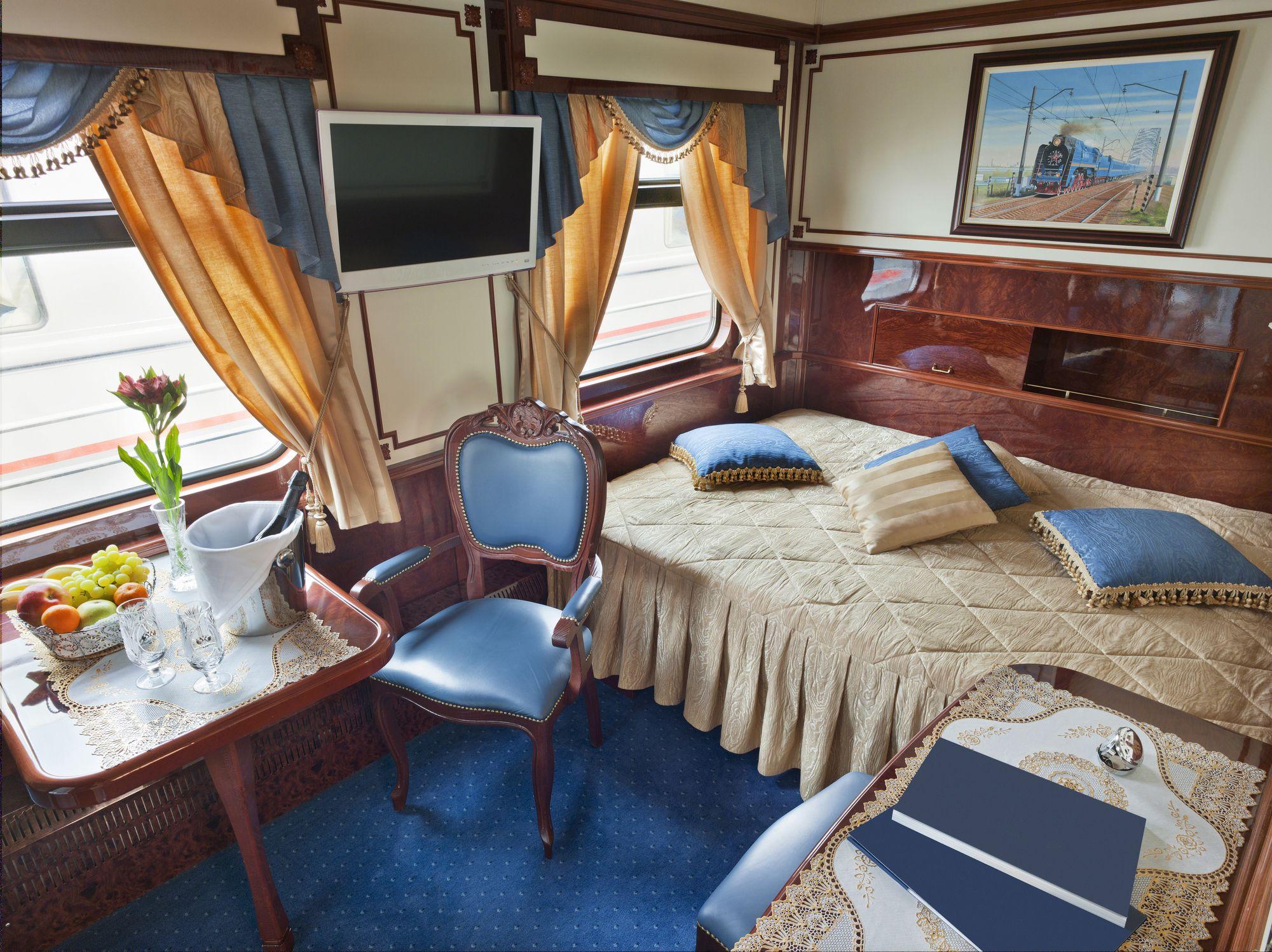 I viaggi in treno più lussuosi del mondo
