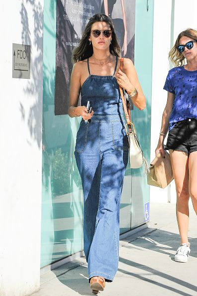 los angeles, ca   october 21 alessandra ambrosio is seen on october 21, 2016 in los angeles, california  photo by bg005bauer griffingc images