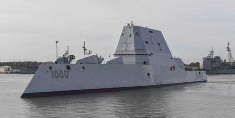 USS Zumwalt.