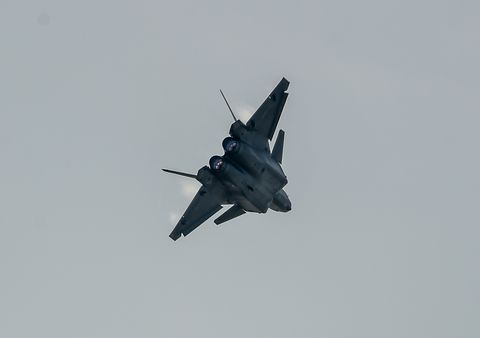 J-20 fighter.