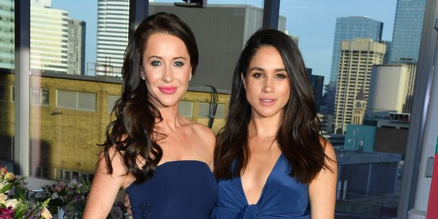 toronto, on   may 31  jessica mulroney and actress meghan markle attends the instagram dinner held at the mars discovery district on may 31, 2016 in toronto, canada  photo by george pimentelwireimage