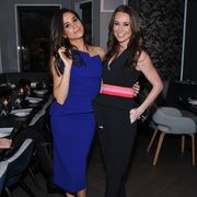 toronto, on   november 23  actress meghan markle and jessica mulroney attend the equinox yorkville dinner held at kasa moto on november 23, 2015 in toronto, canada  photo by george pimentelwireimage