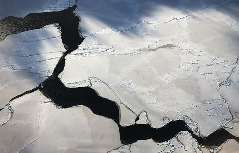 The Bedrock Below West Antarctica Is Rising Shockingly Fast