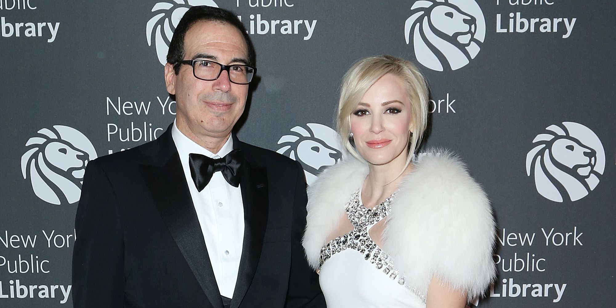 Steven Mnuchin and Louise Linton