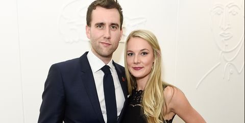 Neville Longbottom actor Matthew Lewis just got married to a muggle!