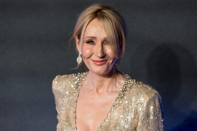 london, england   november 15 author jk rowling attends the european premiere of fantastic beasts and where to find them at odeon leicester square on november 15, 2016 in london, england    photo by ray tanganadolu agencygetty images
