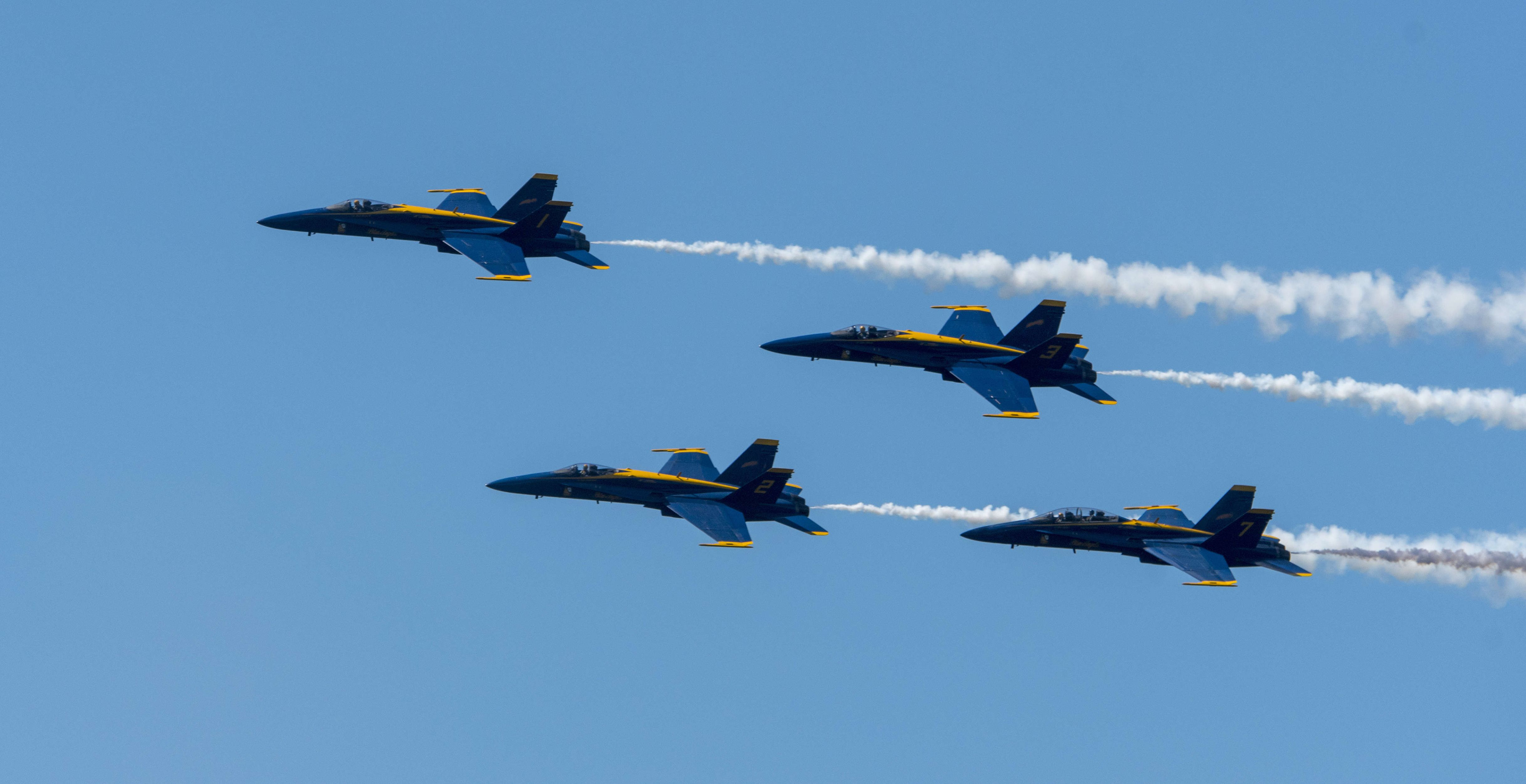 The Blue Angels Are Getting New Jets, and They're Not F-35s