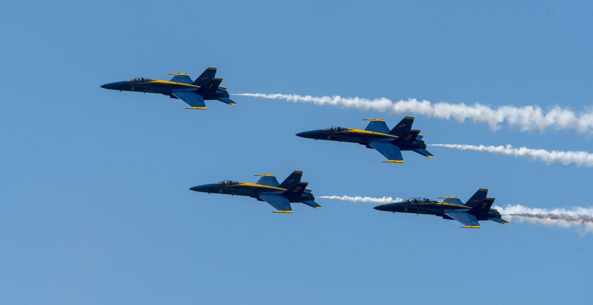 The Blue Angels Are Getting New Jets