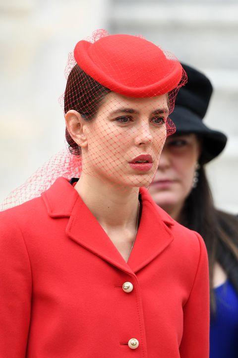 Red, Clothing, Fashion, Hat, Street fashion, Headgear, Lip, Cap, Outerwear, Fashion accessory,