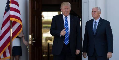 Donald Trump Mike Pence Bedminster