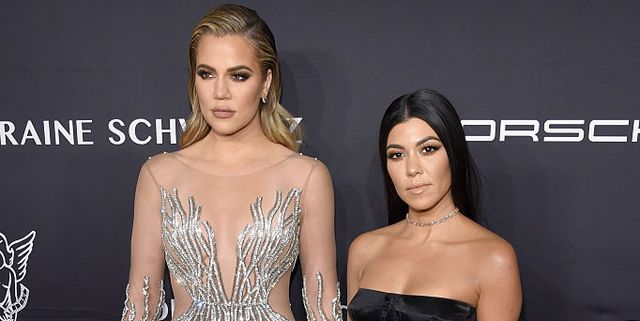 Khloe Kardashian Just Sent A Cryptic Tweet Claiming Kourtney 'Ruined' Her Oscars Night