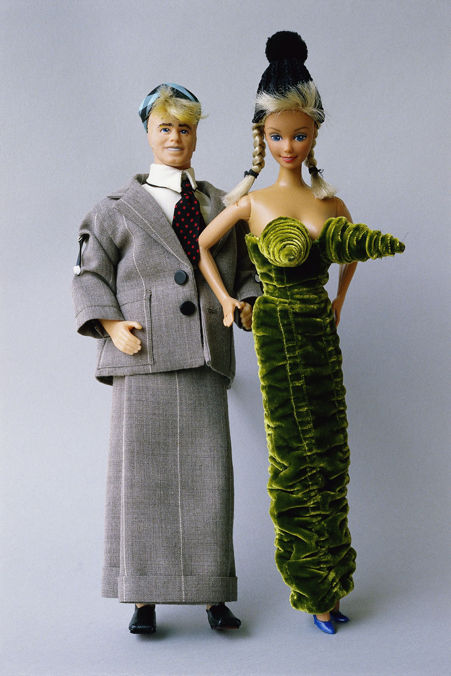 Barbie and Ken in Jean-Paul Gaultier Outfits