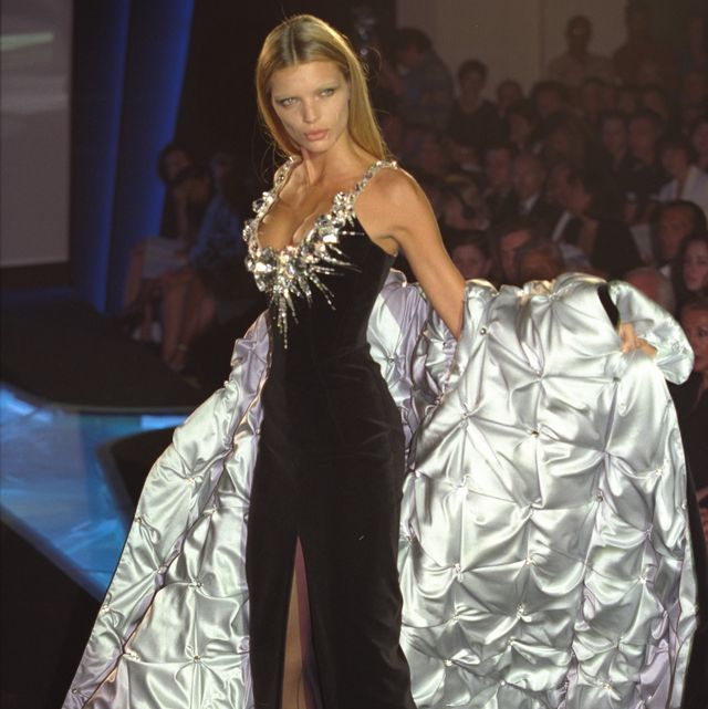 original caption esther canadas on the catwalk photo by pierre vautheysygmasygma via getty images