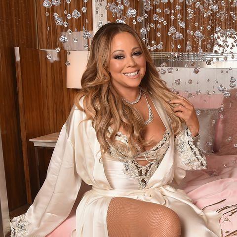 Pink, Clothing, Leg, Long hair, Thigh, Fashion, Sitting, Dress, Room, Brown hair,