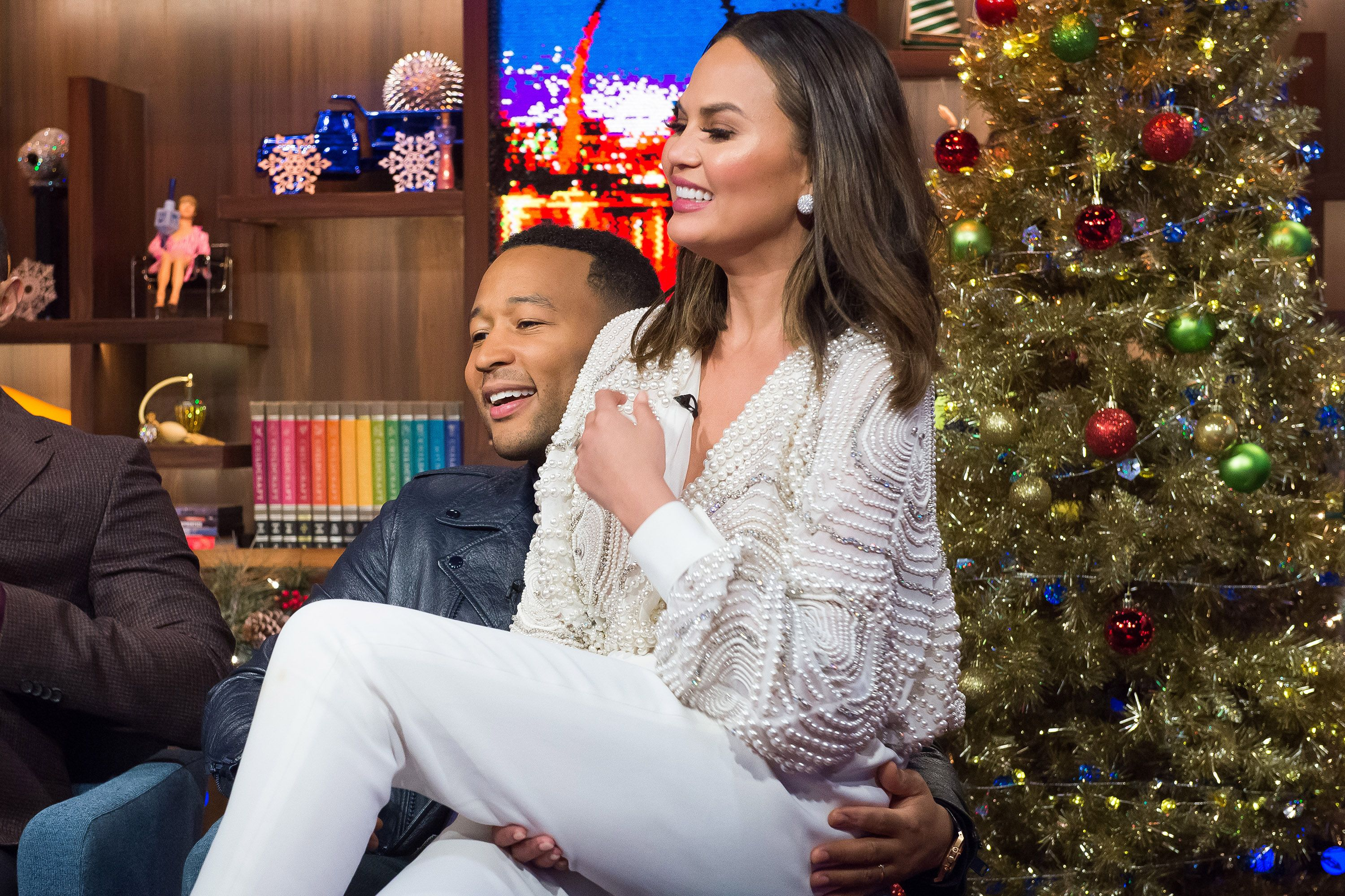 Chrissy Teigen and John Legend Reveal Some of the Craziest Places They've Had Sex