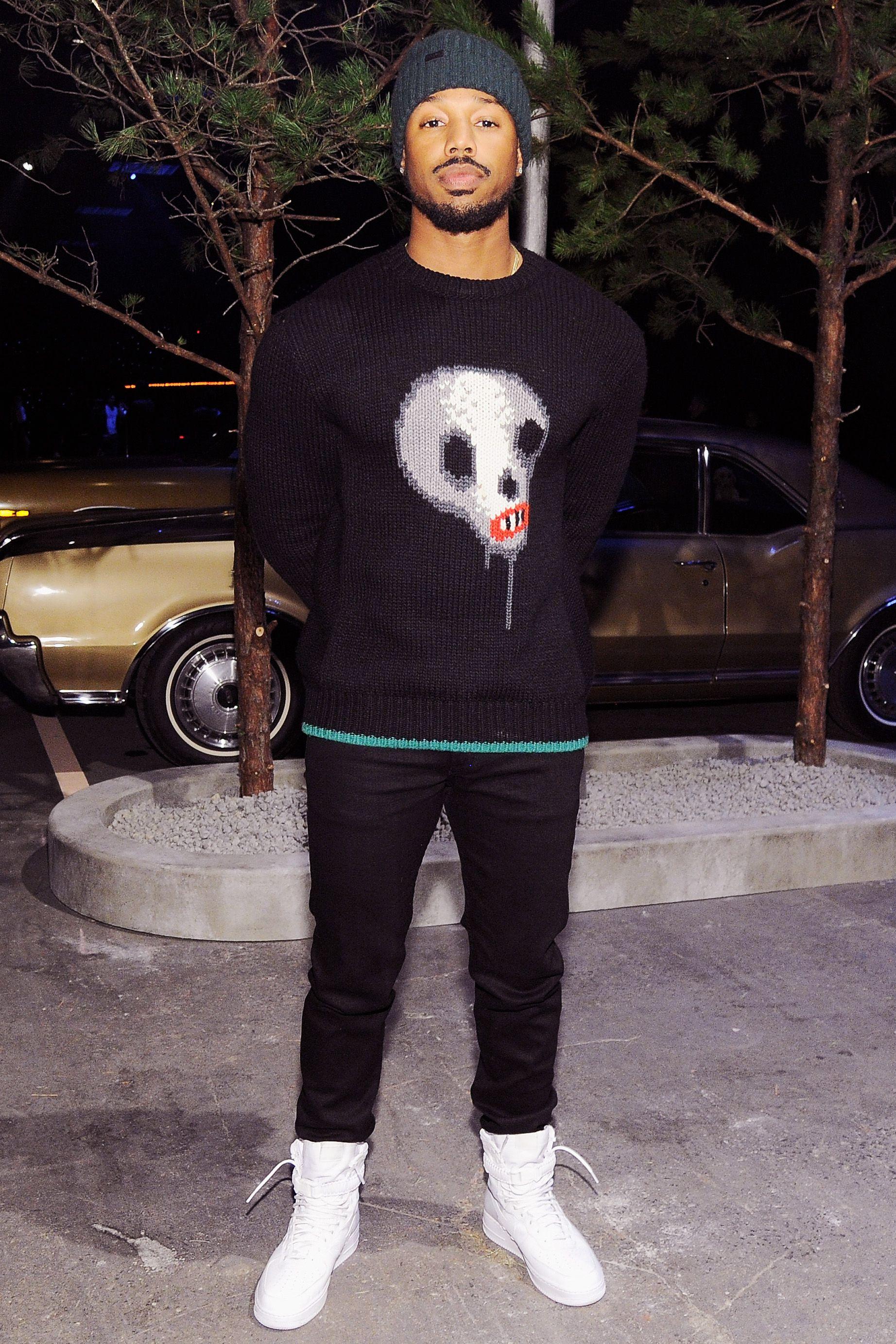 We Should All Rock Standout Knitwear Like Michael B Jordan