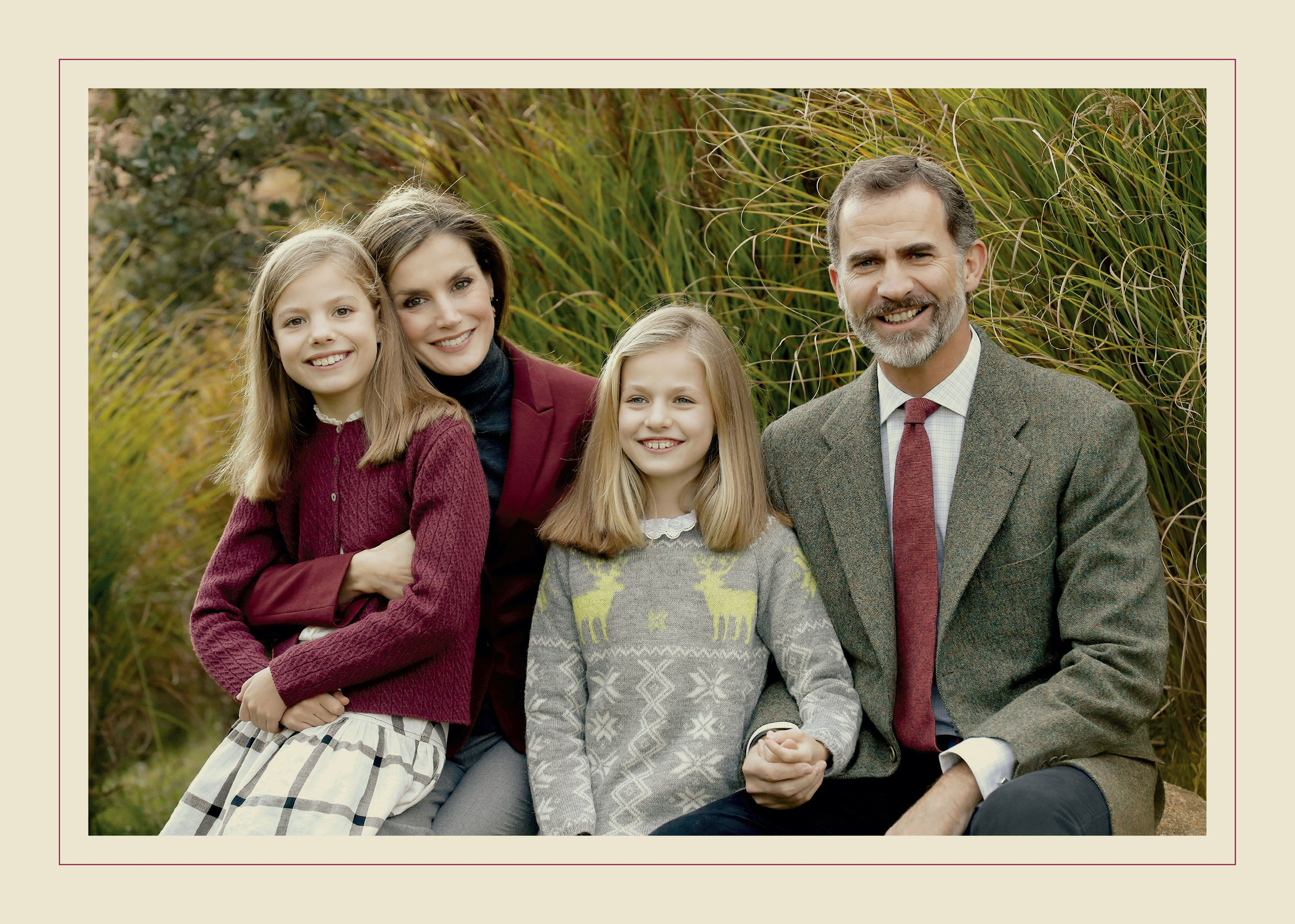 spanish royal christmas card