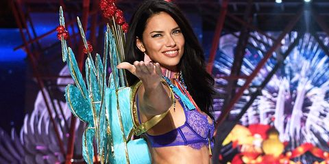 9c273408347 Adriana Lima Retires From the Victoria s Secret Fashion Show—See Her Best  Runway Moments