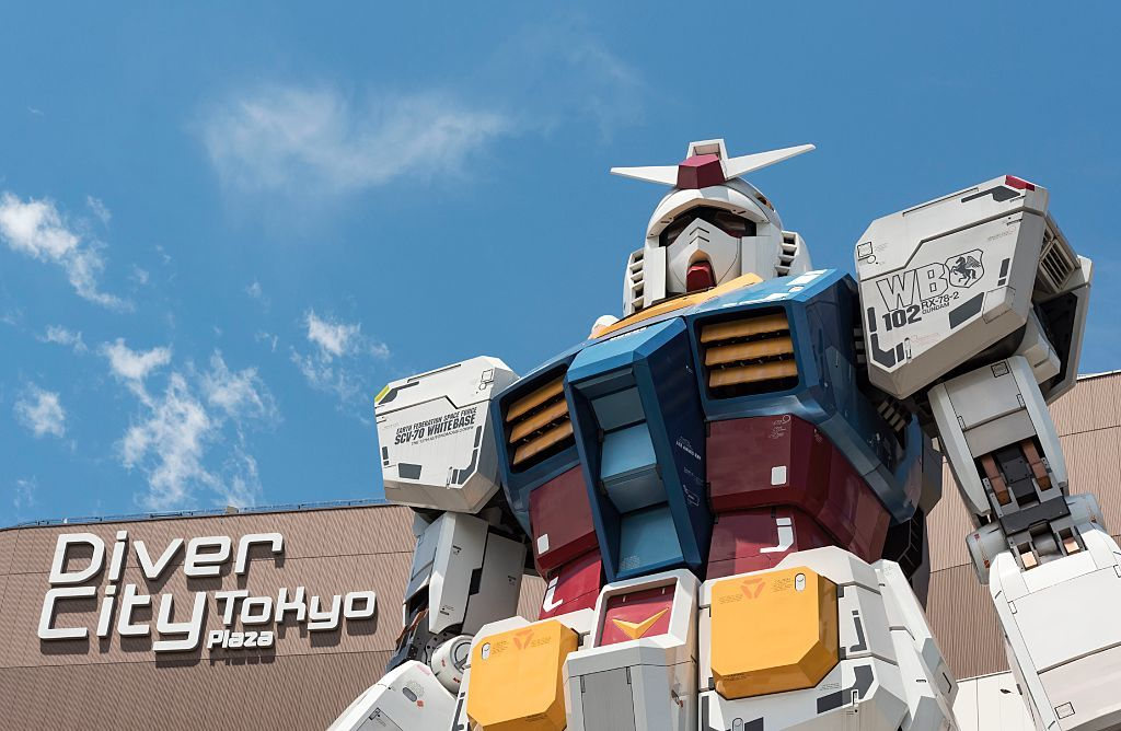 Japan Is Sending Gundams to Space for the 2020 Olympics