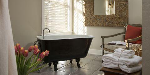 clawfoot bathtub cons