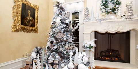 christmas tree ideas - Beautifully Decorated Christmas Tree Images