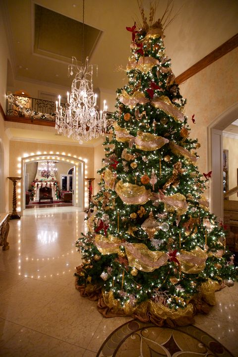Christmas Tree Decorated.Stunning Christmas Tree Ideas For 2018 Best Christmas Tree