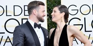 74th Annual Golden Globe Awards - Jessica Biel and Justin Timberlake